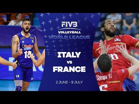 Italy v France highlights - FIVB World League