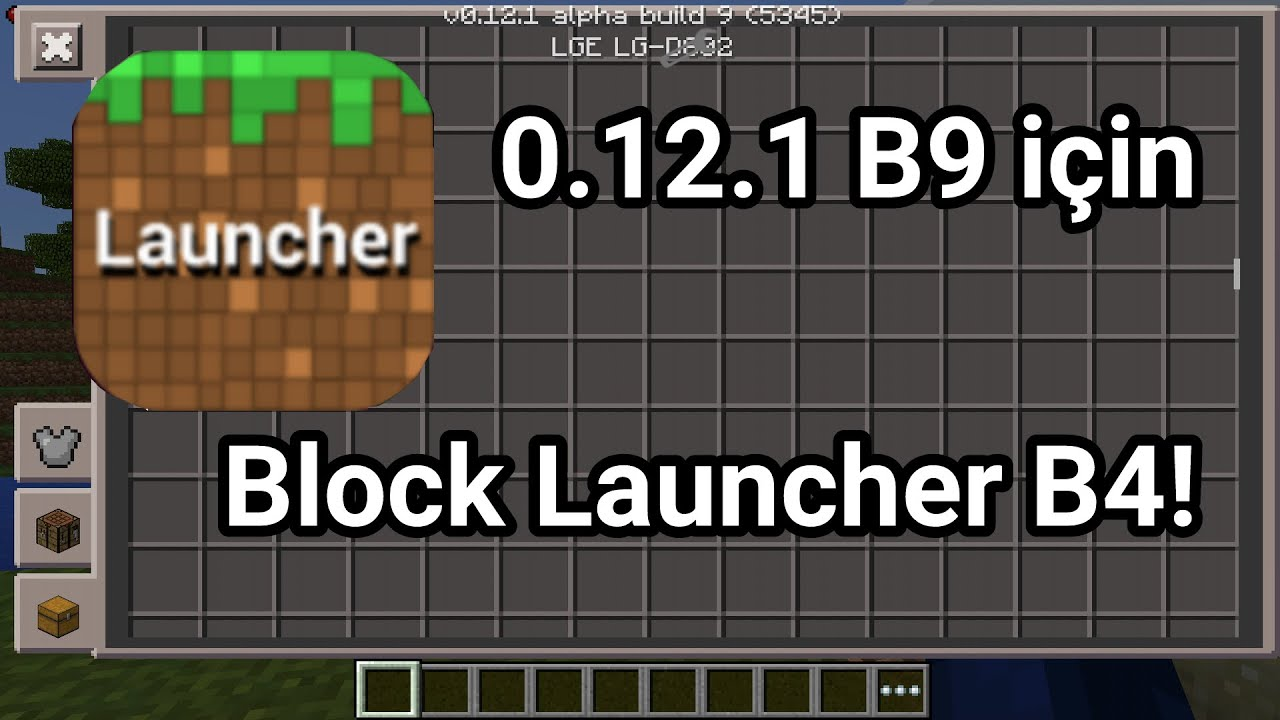 как создать свое блок лаунчер на майнкрафт 1.12.1 #4