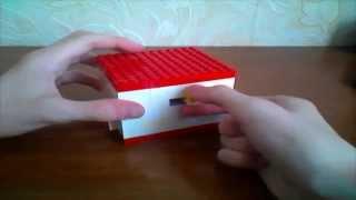 Механизм на прокачку (Ч.1): Лего сейф + головоломка (RUS)