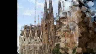La Sagrada Familia de Barcelona -de Antoni Gaudi-.wmv