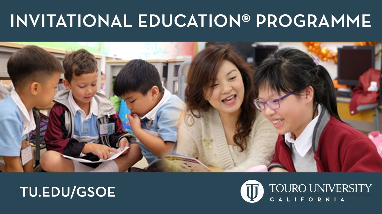Masters Of Invitational Education Programme Youtube