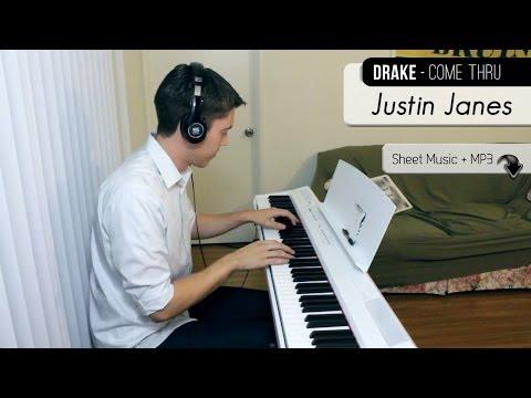 Drake - Come Thru [Piano Cover + Sheet Music]