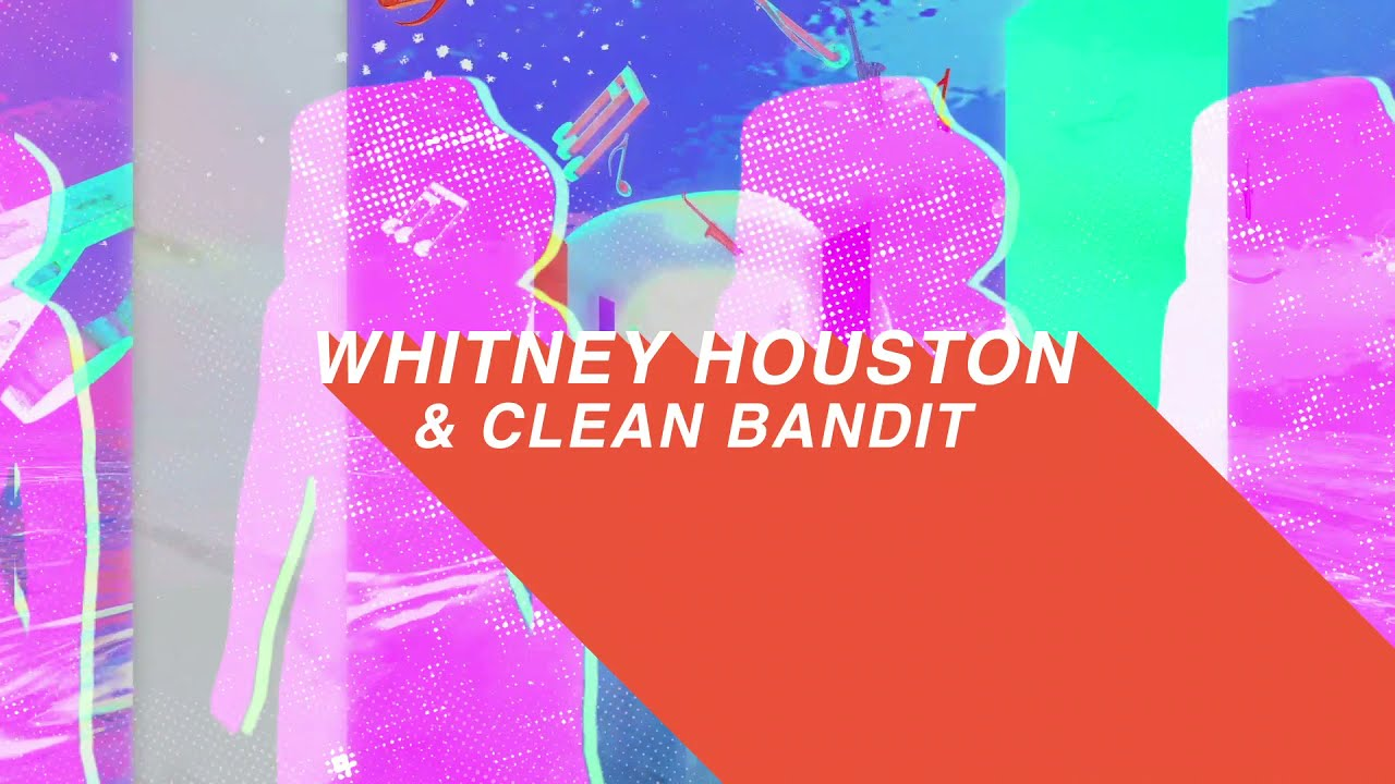 Clean Bandit - How Will I Know [Whitney Houston Remix] Lyric Video Teaser