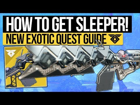 Destiny 2   How To Get SLEEPER SIMULANT! Exotic Quest Guide & First Look at D2 Sleeper (Warmind DLC)