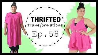DIY Summer Peplum Romper | Thrifted Transformations Ep. 58