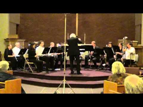 Northwest Clarinet Choir: The Marriage of Figaro Overture by W.A. Mozart, arr. Lucien Cailliet