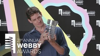 WIRED's 5-Word Speech at the 21st Annual Webby Awards