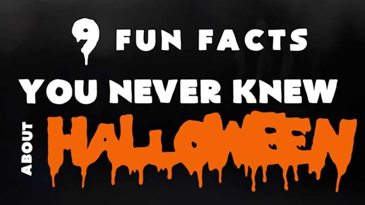 fun facts: halloween - youtube