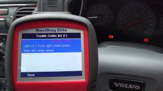 Diagnose, Repair & Reset ABS Warning Light On Volvo Cars