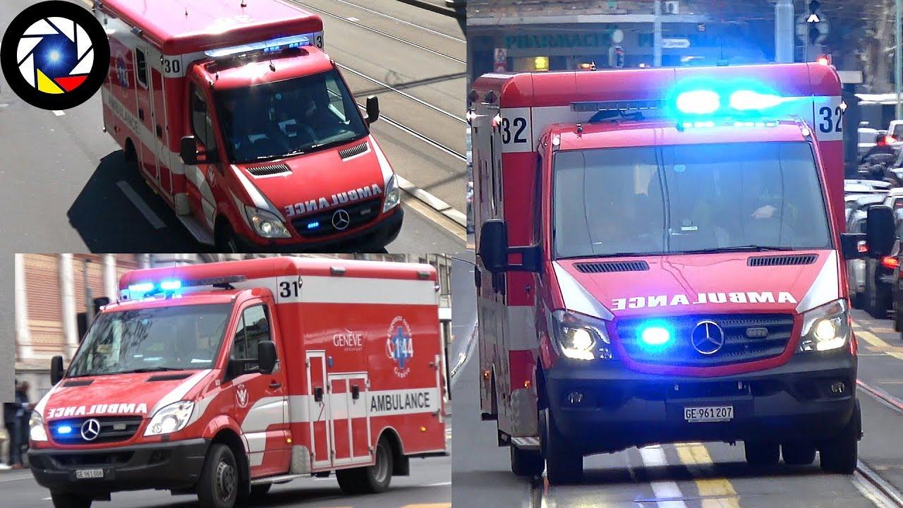 Download Geneva Airport Fire Brigade Ambulances SSLIA