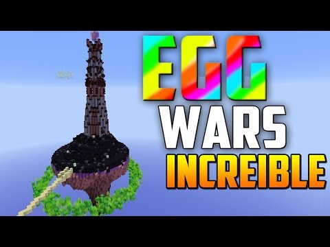 SOY EL DIOS DE EGG WARS MINECRAFT ¡¡INCREIBLE!!