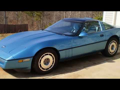 You Must Know !!! 1987 Chevrolet usa Corvette C4 Convertible