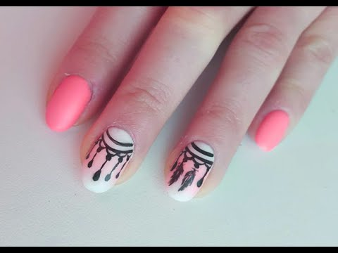 tuto pas a pas nail art facile attrape reve faux ongles vernis semi permanent youtube. Black Bedroom Furniture Sets. Home Design Ideas