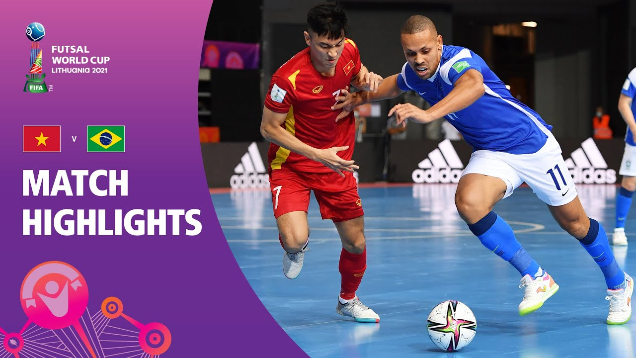 Vietnam v Brazil   FIFA Futsal World Cup 2021   Match Highlights