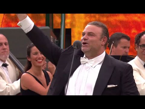Joseph Calleja Performs Time To Say Goodbye At The No.1 Court Celebration