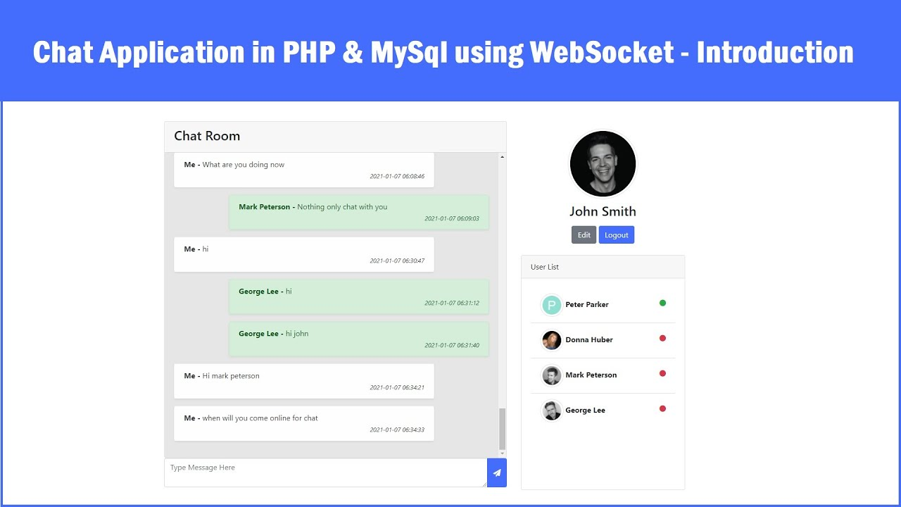 Php chat Live Chat