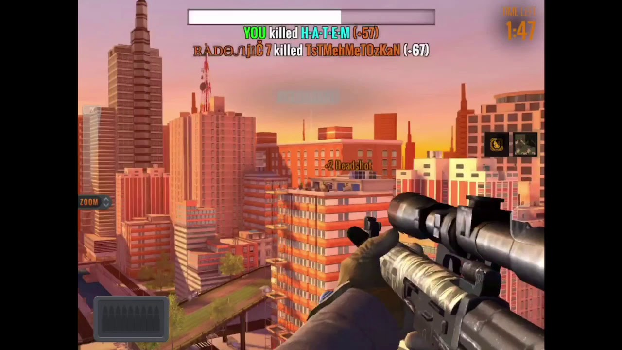 Sniper 3D assassin tips to save some diamonds