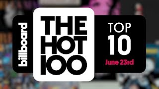 Baixar Early Release! Billboard Hot 100 Top 10 June 23rd 2018 Countdown | Official