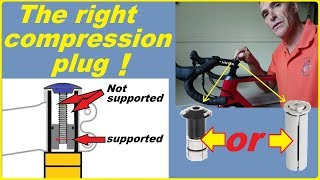 Have you got the right compression plug for your carbon fork?