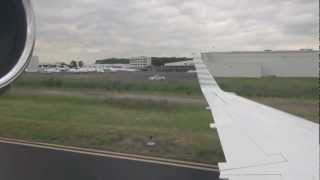 Embraer Legacy 600 Landing at Teterboro Airport, New Jersey
