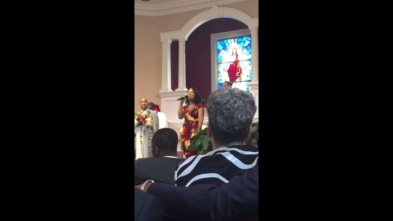 Wedding Performance By Summer I Promise Song Cece Winans
