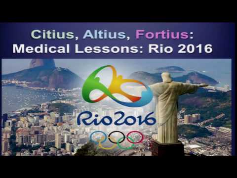 Medical Lessons from Rio 2016 : Dr Juan-Manuel & Dr Mark Hutchinson