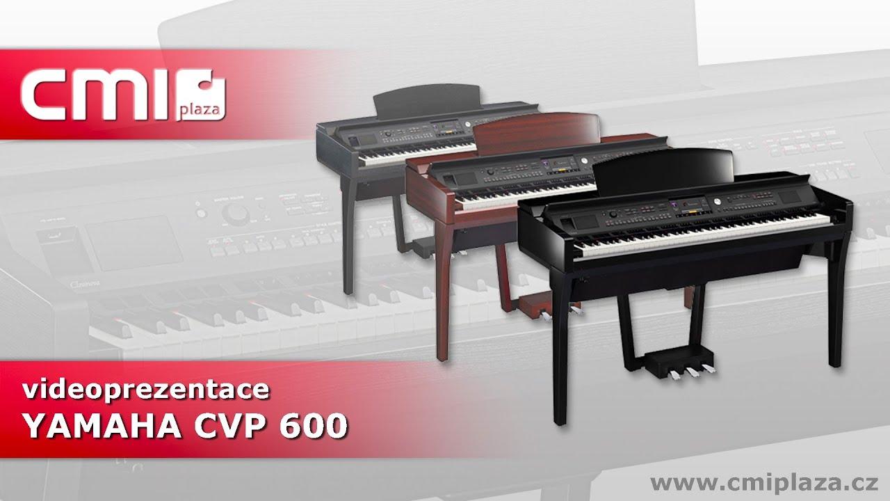 Yamaha s rie cvp 600 videoprezentace youtube for Yamaha clavinova cvp 601