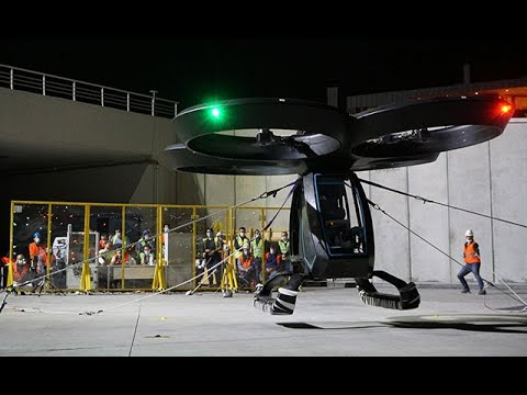 Türkiye'nin ilk uçan arabası Cezeri'nin yeni görüntüleri yayınlandı
