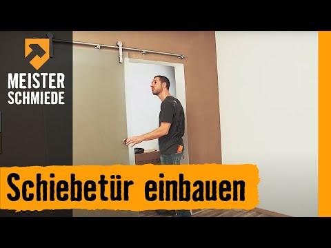 Cool Meisterschmiede Schiebetür einbauen - YouTube FJ32