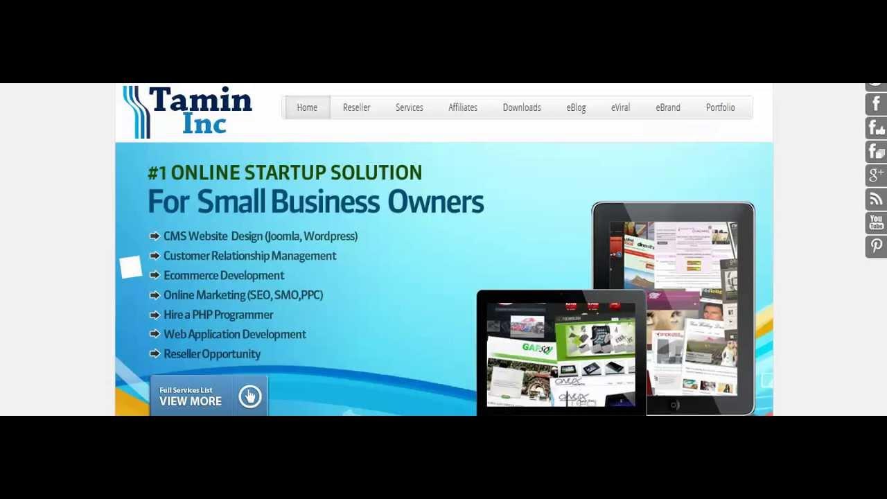 How To Start Your Own Online Web Design Business   Reseller  Webhosting Reseller Website Etc