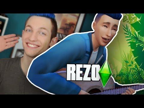 CAS: Rezo ⭐️ Sims 4 Dschungelcamp