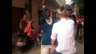Funny White boy dancing with Indian gay to song Shiela Ki Jawani