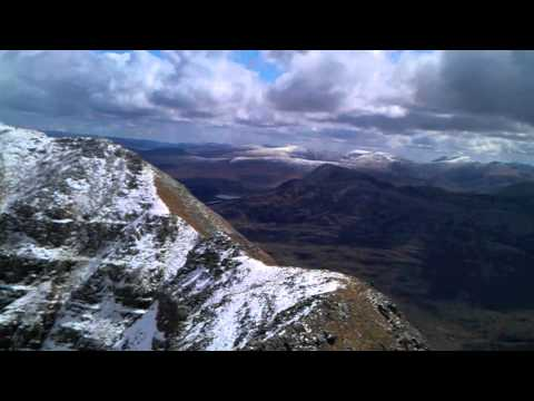 Munro Man: Poem by Patrick of the hills  by Sigur Ros-Hoppípolla