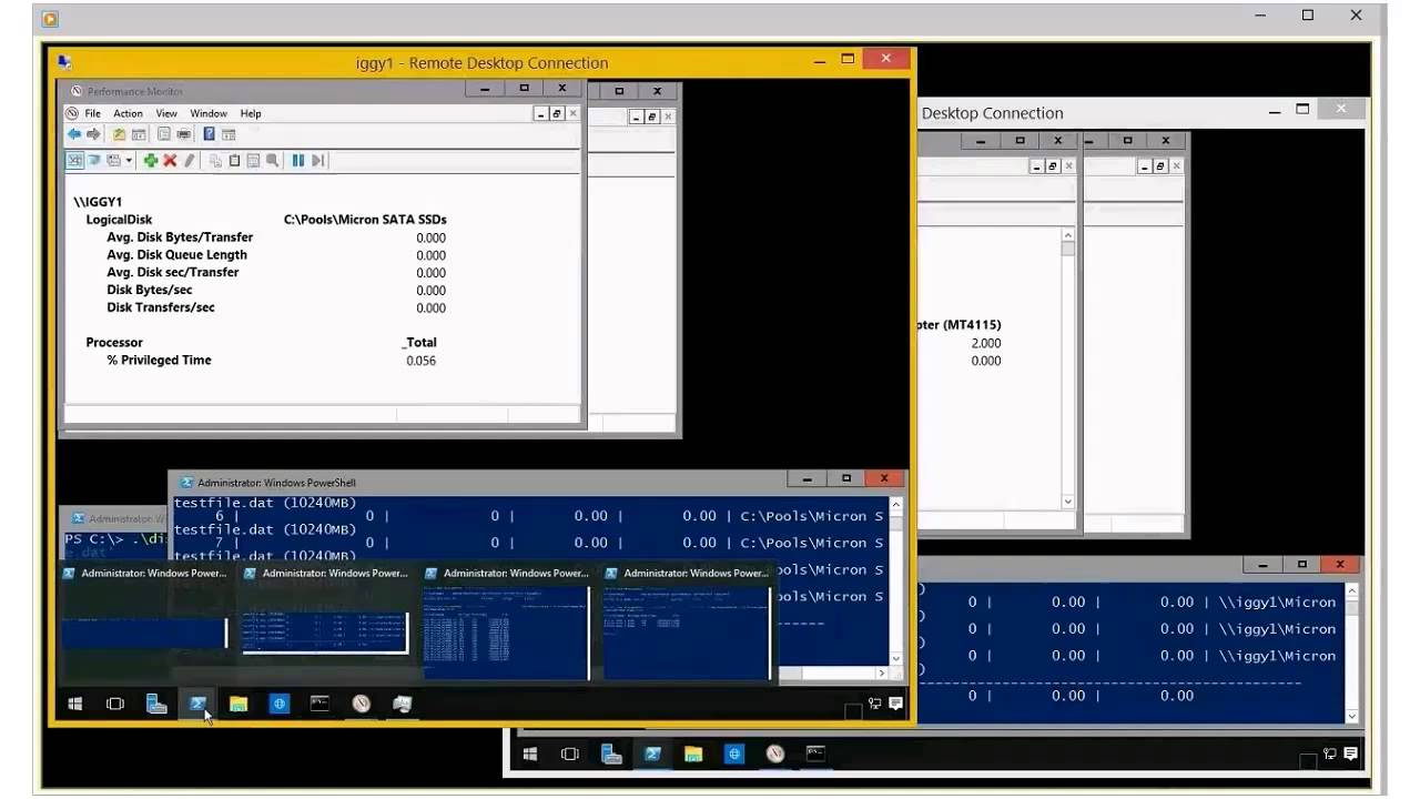 Windows Server 2016 TP2 with SMB3, Storage Spaces, Micron NVMe and Mellanox  100GbE