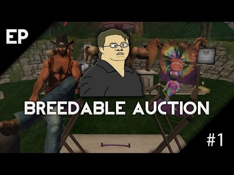 Second Life: Breedable Horse Auction #1 (Trolling)