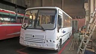 Видеообзор на городской автобус ПАЗ-320412