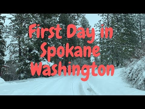 First Day in Spokane Washington Feb 2019