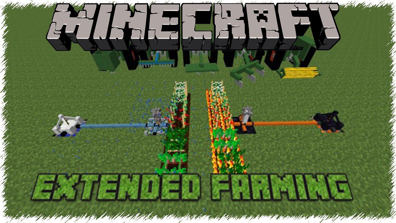 мод extended farming для майнкрафт 1.7.10 #6
