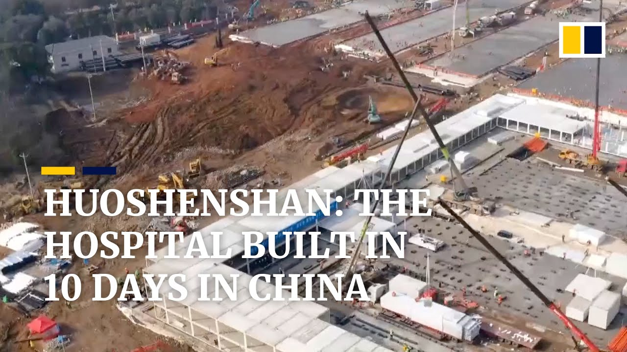 Huoshenshan: the hospital built in 10 days in China over ...