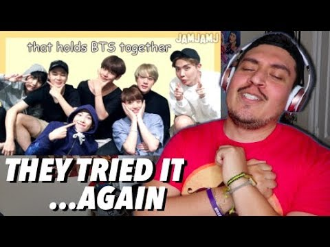 """BTS looks the same."" um, then what's this? REACTION"