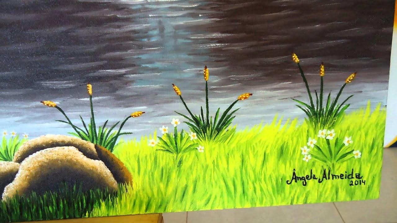 Angela almeida pintura em tela paisagem luz e sombra - Telas para sombra ...