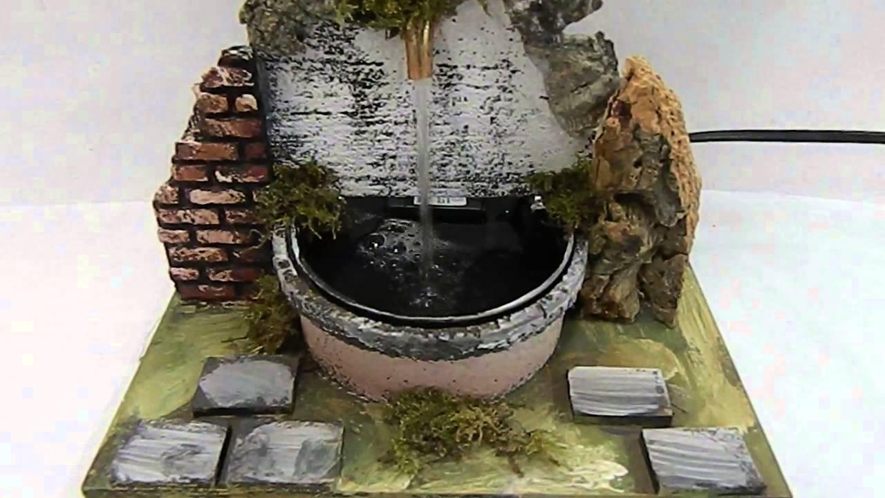 Fontana Presepe Fai Da Te Cool Presepe Artigianale Napoletano