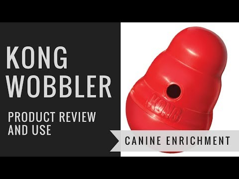 Kong Wobbler: Product Review and Use