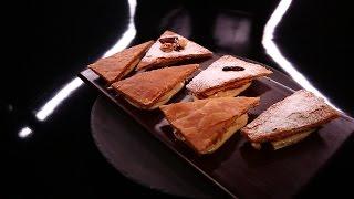 Millefeuille revisité, crème diplomate au praliné minute par Christophe Michalak (#DPDC)