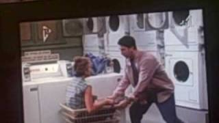 F.R.I.E.N.D.S Ross walks into a washing machine