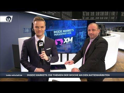 XM Inside Markets: Dax hat Zündstoff - Commerzbank auf 7,90 Euro?