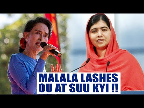 Malala Yousufzai criticises Aung San Suu kyi over plight of Rohingyas | Oneindia News