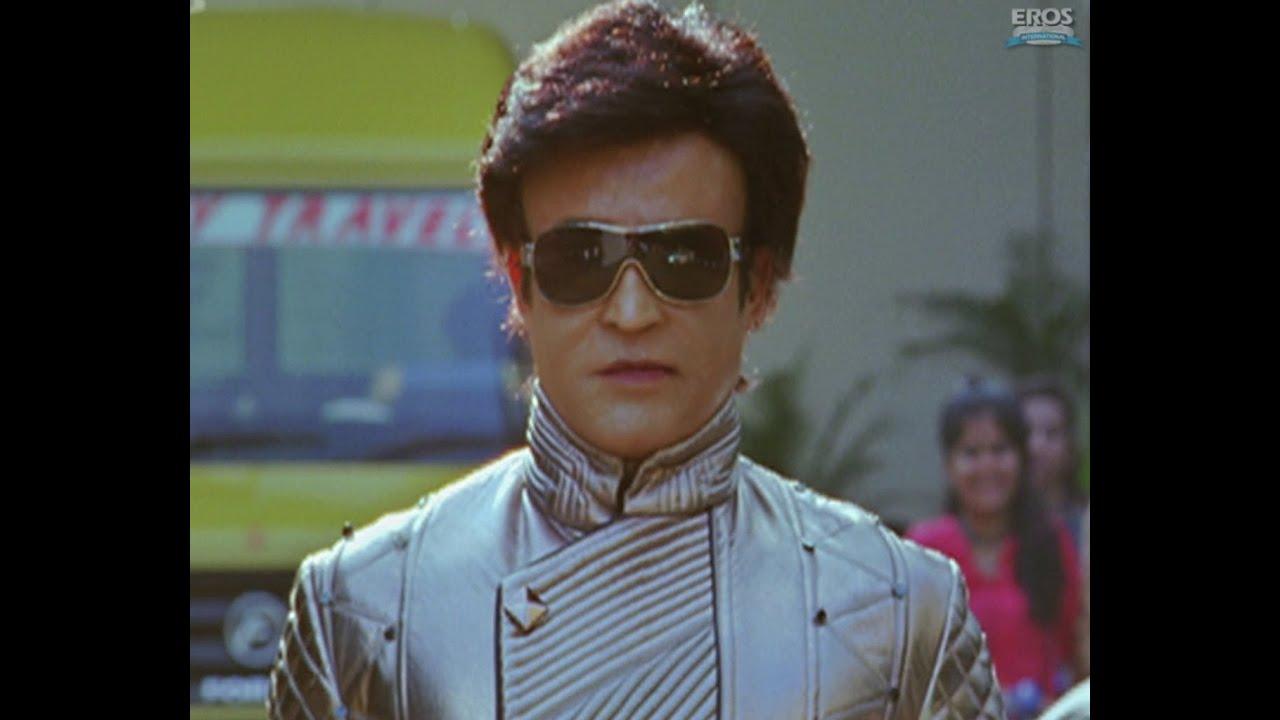 When Rajinikanth Met Shah Rukh Khan Ra One Youtube