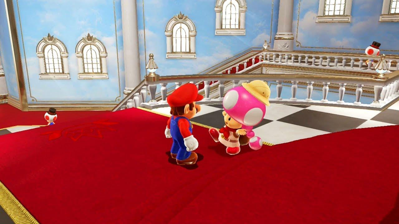 Super Mario Odyssey Part 44 Inside Peach S Castle