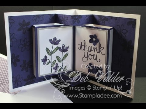 How To Create A Pop Up Book Card With Deb Valder YouTube